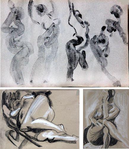 Series of Gesture Drawings