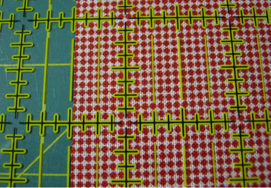 Improper Way of Cutting Fabric for Quilting