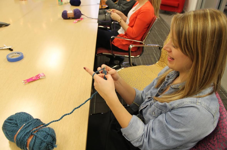 Employee Learning Crochet