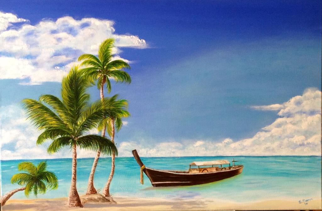 Painting of Beach - Bluprint.com