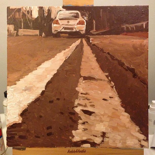 Perspective of Road and Car - Bluprint.com