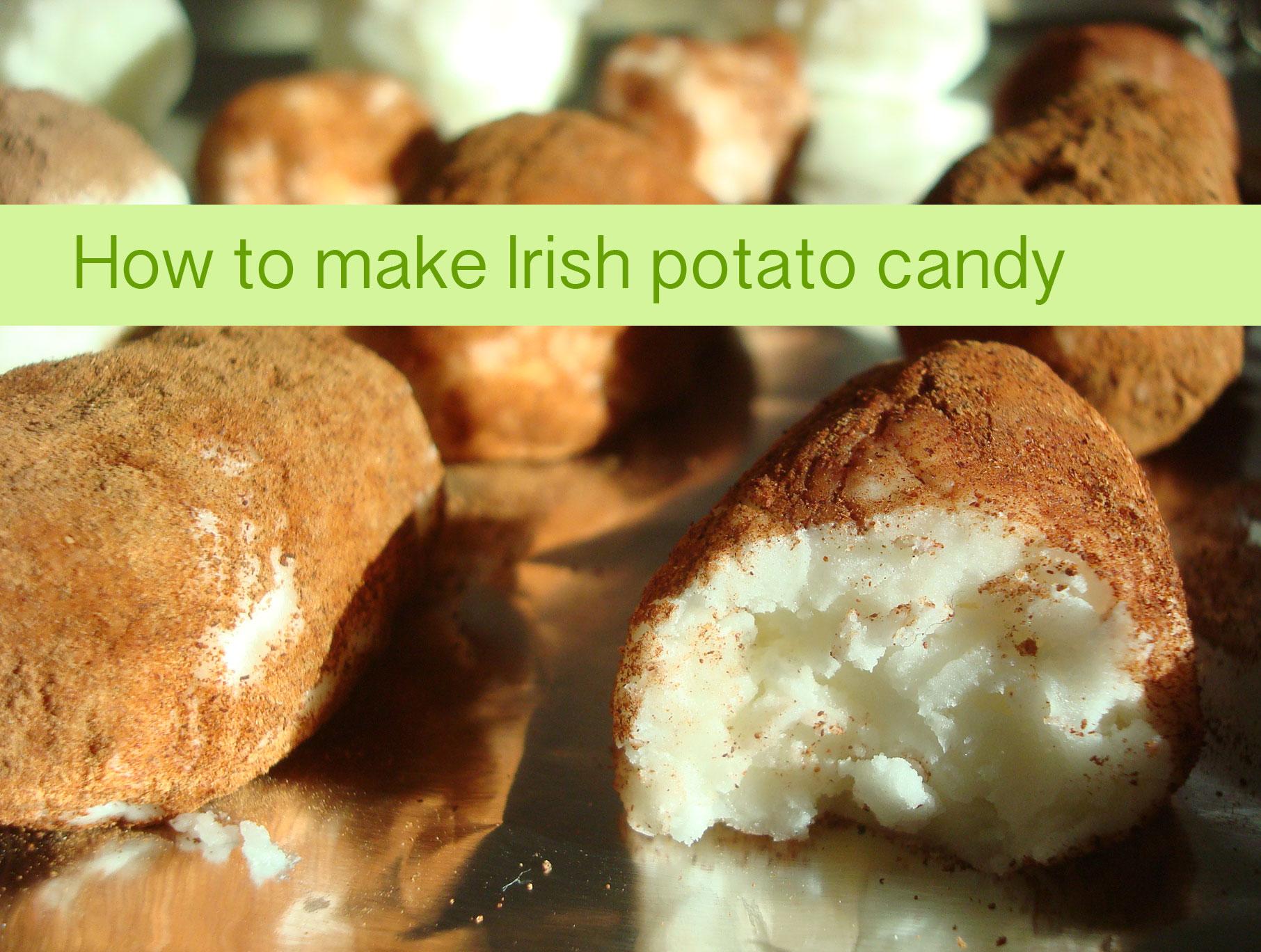 Making Homemade Irish Potato Candy on Bluprint.com