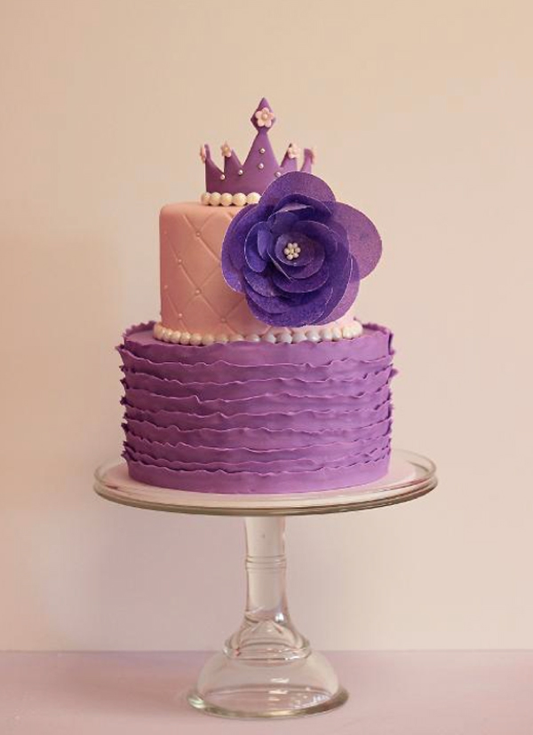 Ruffled Princess Cake - Craftsy Member Project