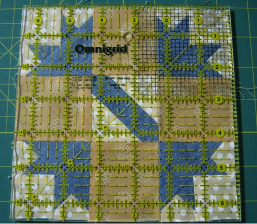 A Quilt Block with Missing Threads