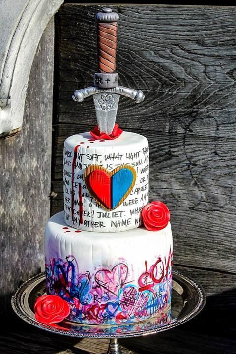 Romeo and Juliet Love Cake
