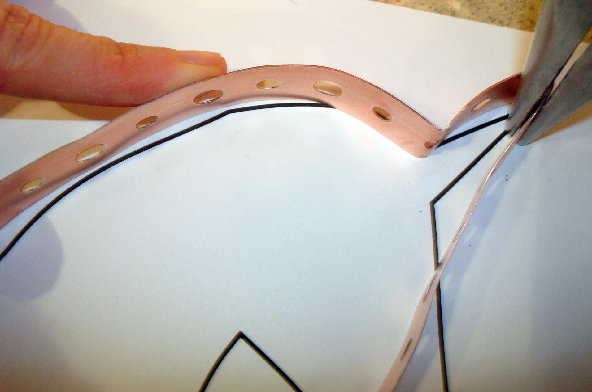 Shaping Metal Strip