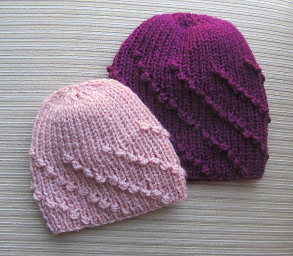 Bobble Knit Hat - Pattern on Bluprint.com