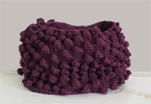 Bluprint Member Pattern - Bobble Cowl