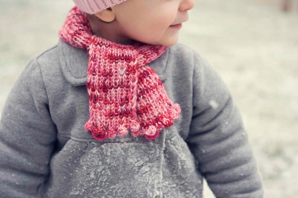 Child's Bobble Scarf - Pattern on Bluprint.com