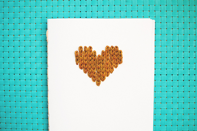 notebook for knitting ideas