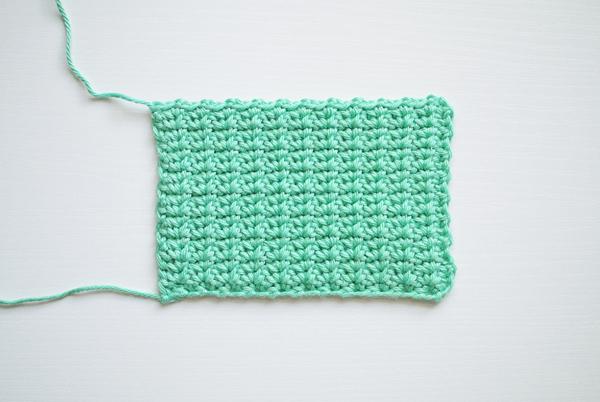 Crochet the spider stitch