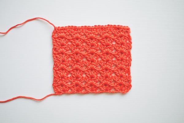 Crochet the Iris stitch