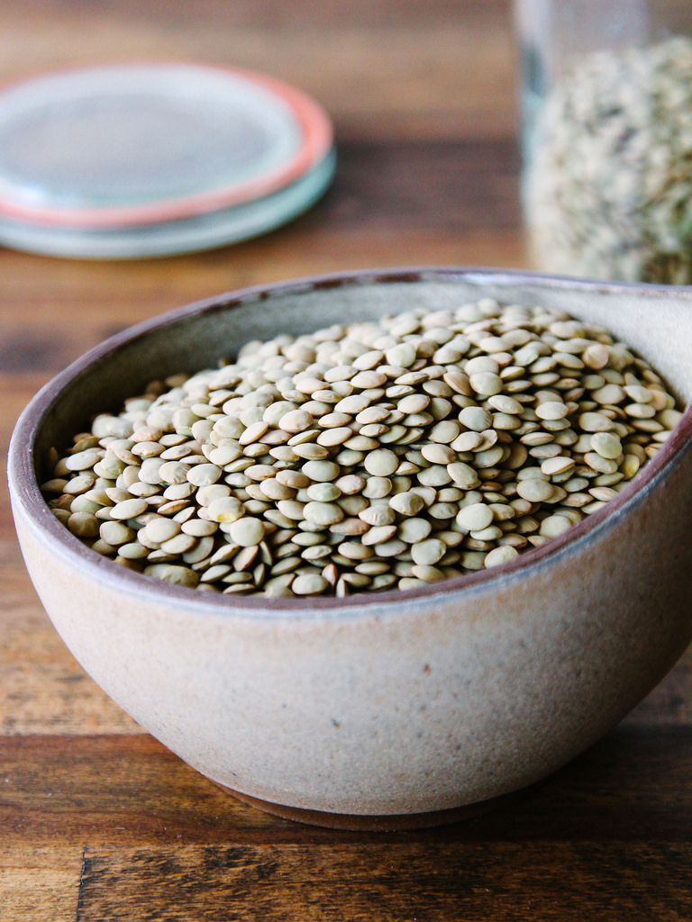 Lentils and other legumes