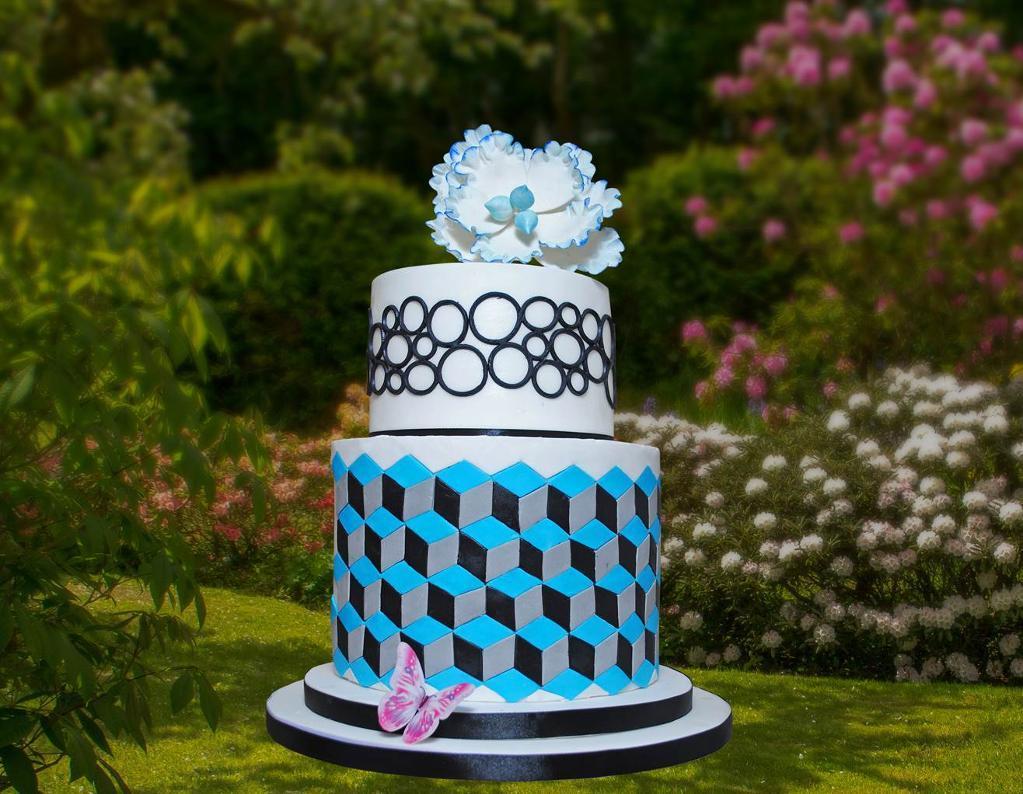 Block Cake Design