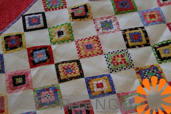 Machine Made Pieced Quilt