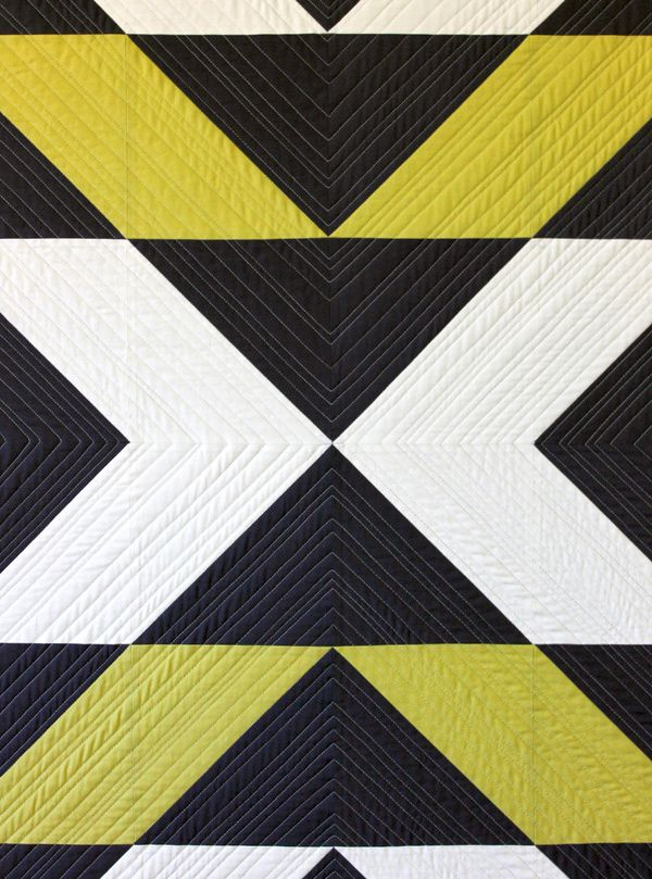 Continuous Quilting Design: FMQ on Your Machine