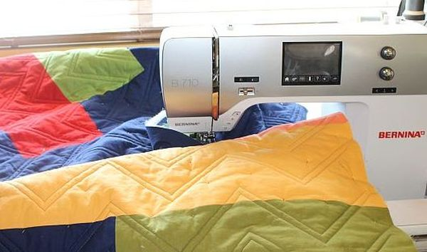 Free Motion Quilting With a Regular Machine