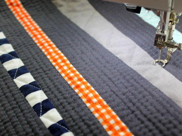 Setting Machine Stitch Length for FMQ