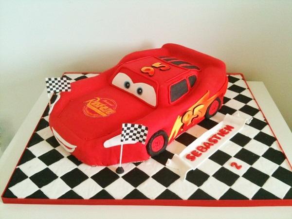 Disney's Cars Themed Cake