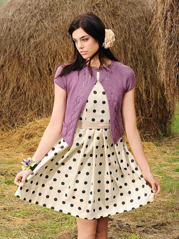 Cecily's spring cardigan kit