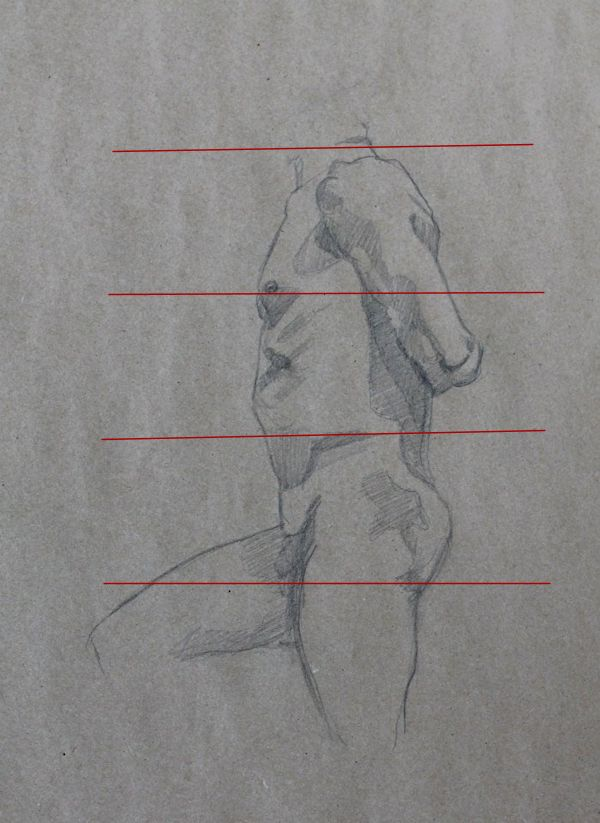 """Measuring in """"heads"""" - Drawing the Human Body"""