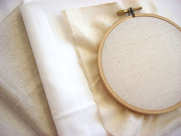 Choosing Fabric for Hand Embroidery - Bluprint.com