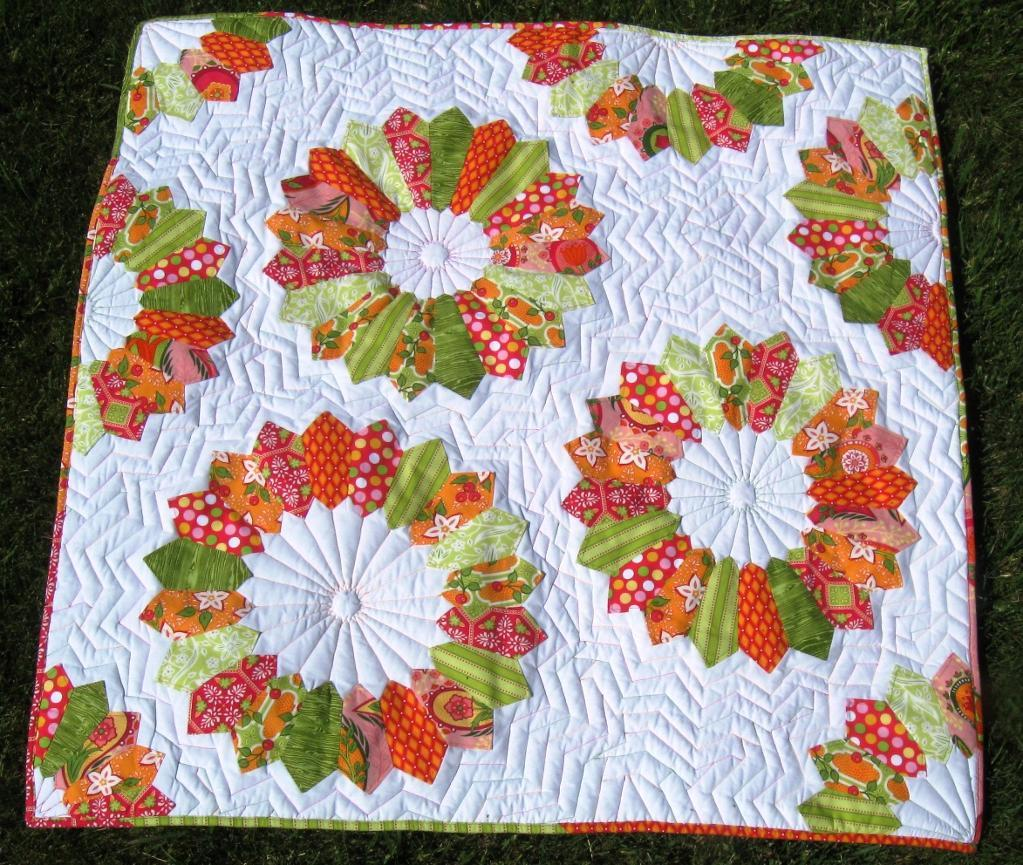 Double Dresden Delight Quilting Pattern