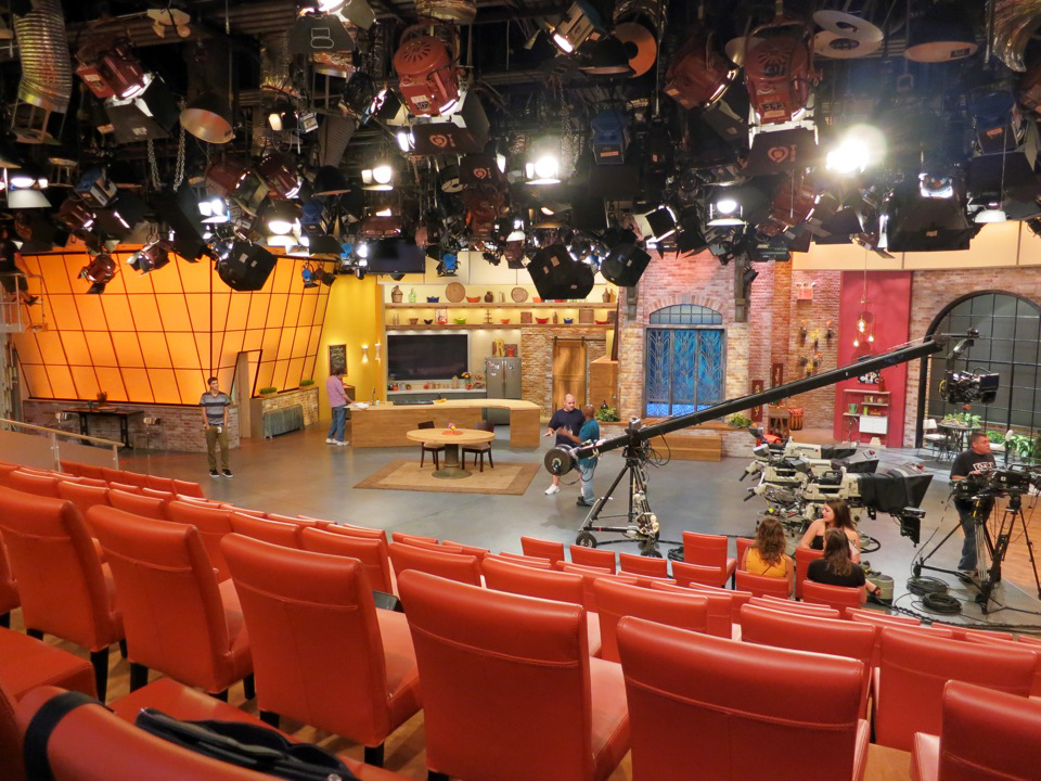 On the Set of Rachael Ray