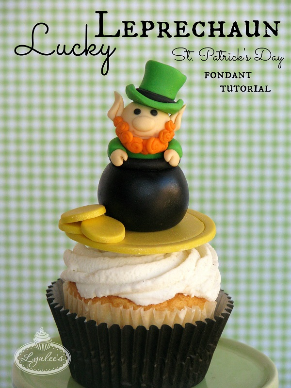 Title Image: How to Make a Fondant Leprechaun - Free Tutorial on Bluprint