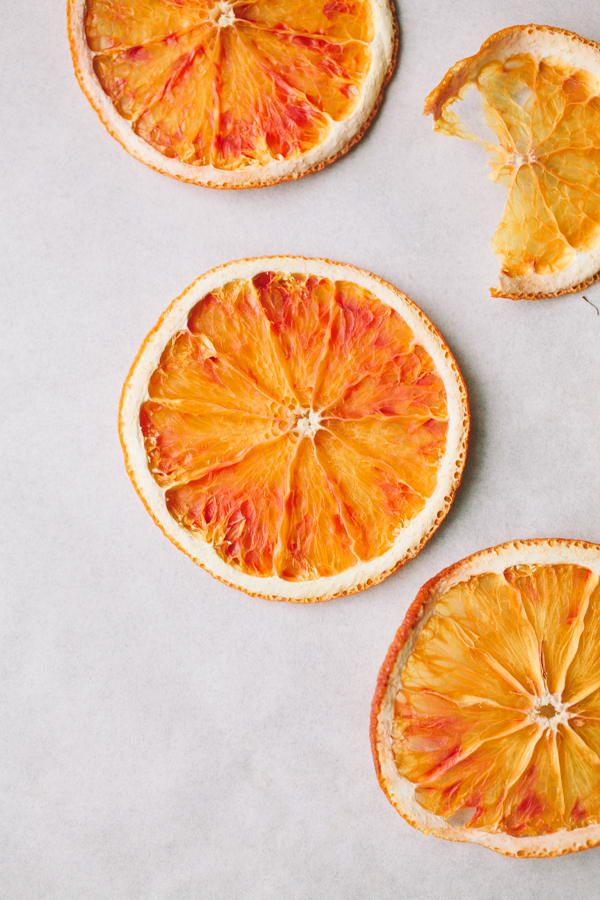 Delicious Dried Oranges