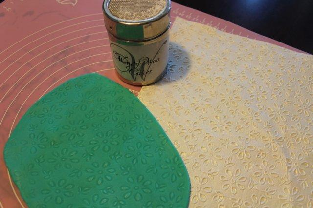 Textured Paper for Cake Decorating