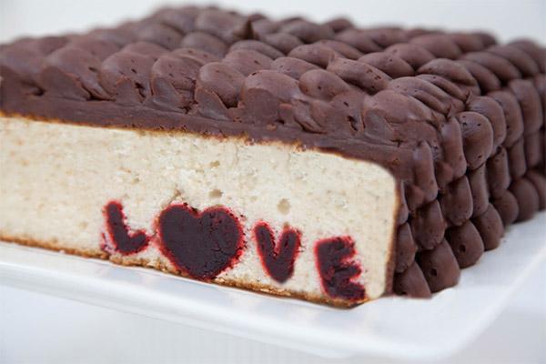 Love Surprise Cake