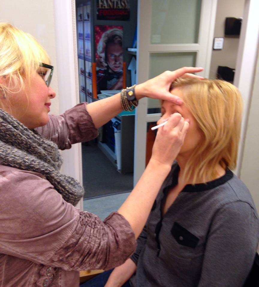 Hair and Makeup at Rachael Ray