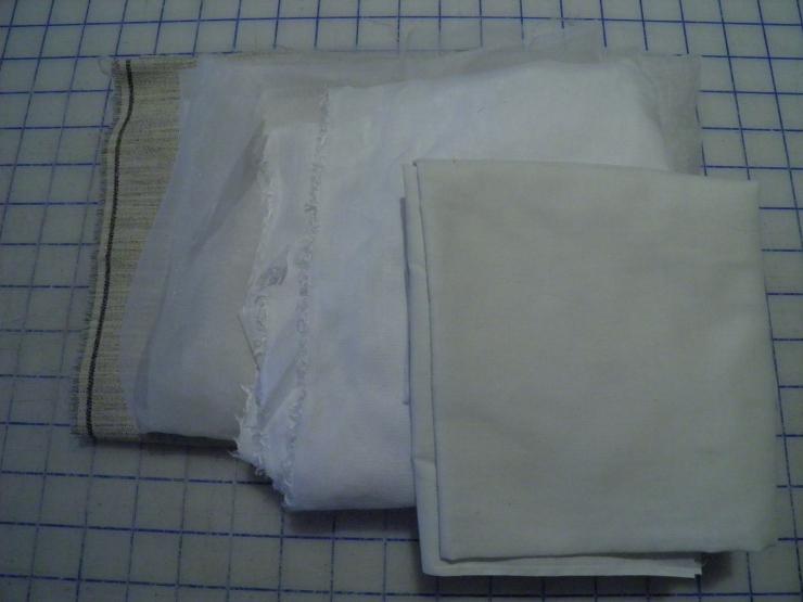 Examples of Sew-in Interfacings