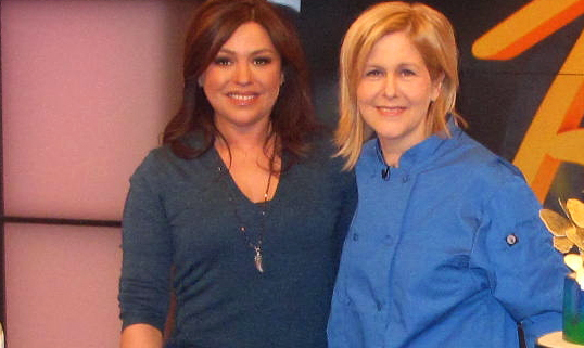Cake Decorator Kate Sullivan With Rachael Ray
