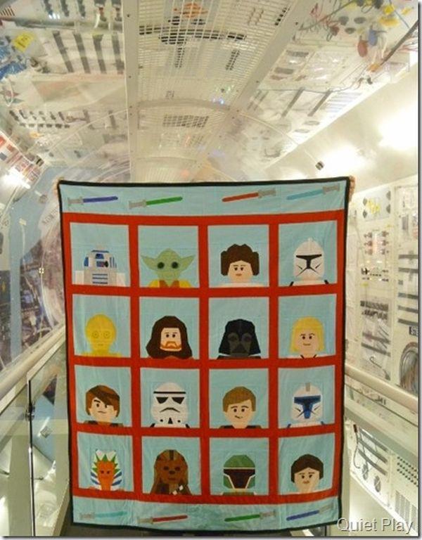 Star Wars Lego Quilt - craftsy member pattern
