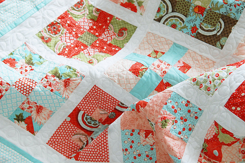 Colorful Picnic Quilt: Picnic Quilting Patterns on Craftsy.com