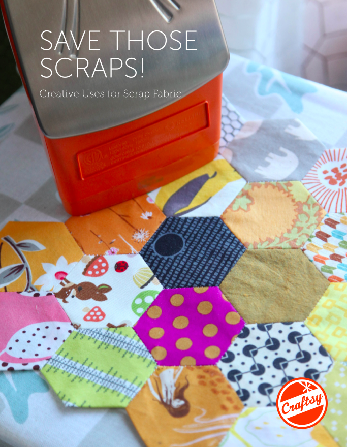 Title Image: Save Those Scraps: Creative Uses for Scrap Fabric