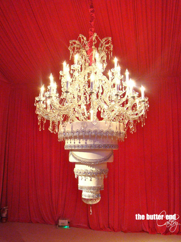 Chandelier cake by The Butter End