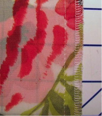 Sewing the Back Seam - Use a French Seam for Lightweight Fabric