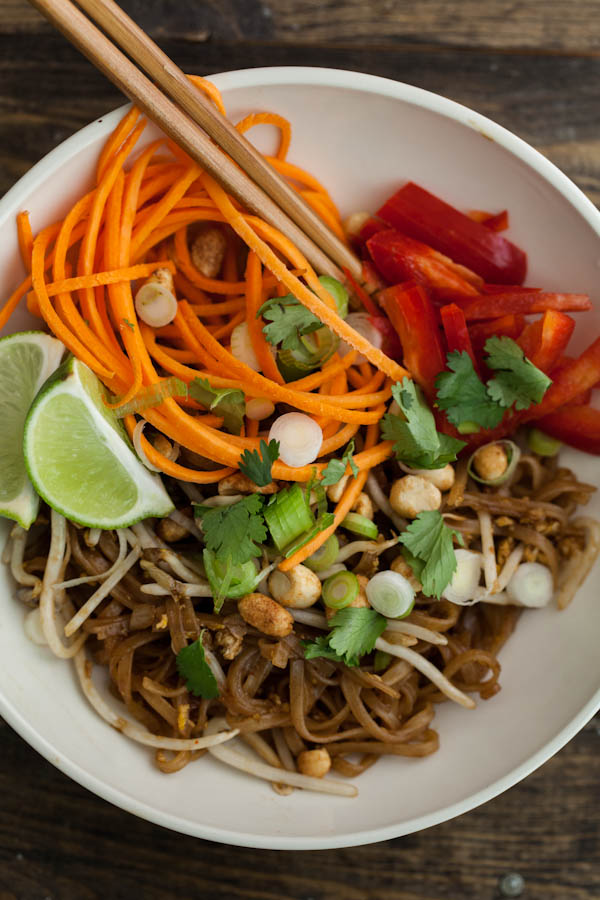 Vegetarian Pad Thai: Recipe on Bluprint