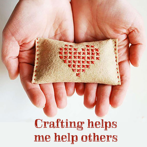 Crafting Helps Me Help Others: Logo on Bluprint.com