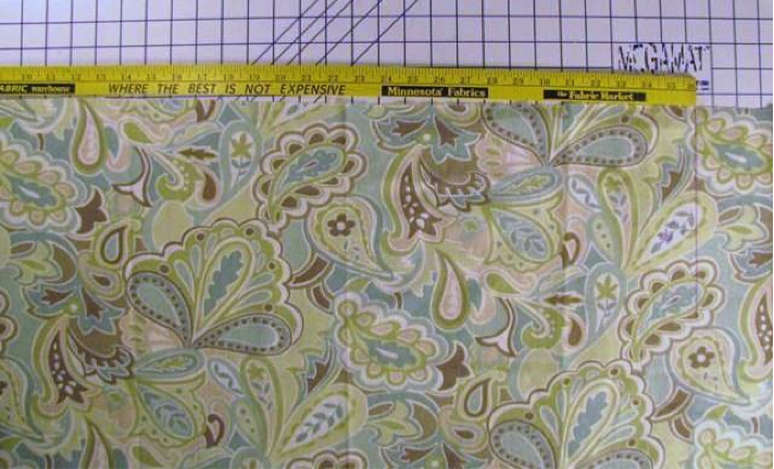 Step 2: Measuring Fabric for Gathering