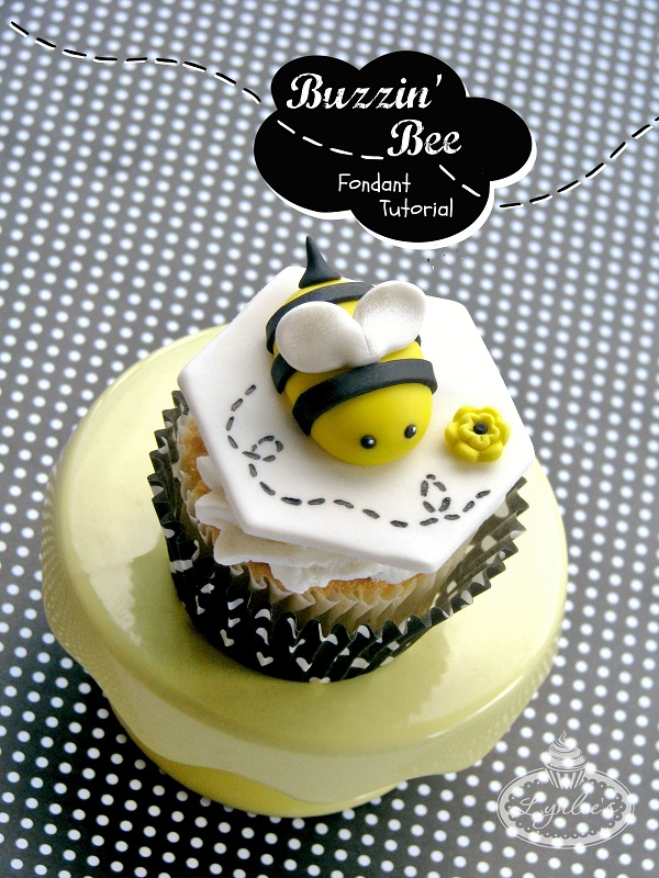 Title Image: How to Make a Fondant Bee - Tutorial on Bluprint