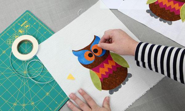 Debb Luttrell Fusible Applique Owl