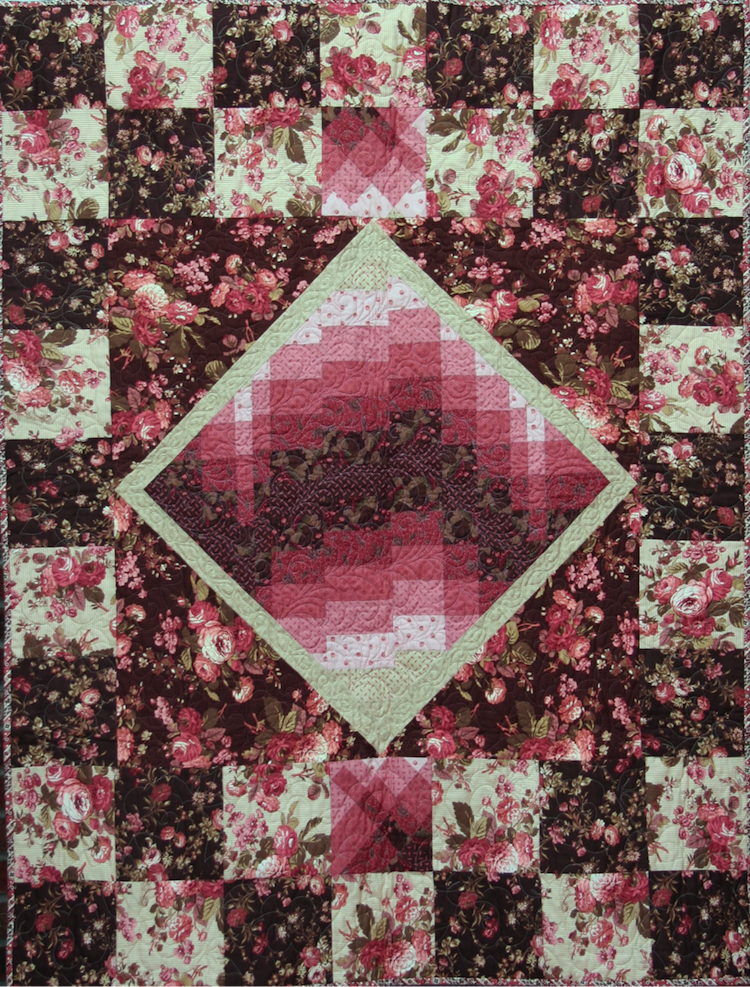 Weekend in Florence Lap Size Quilt