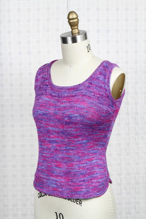 Shapely knit tank top - Craftsy Member Project