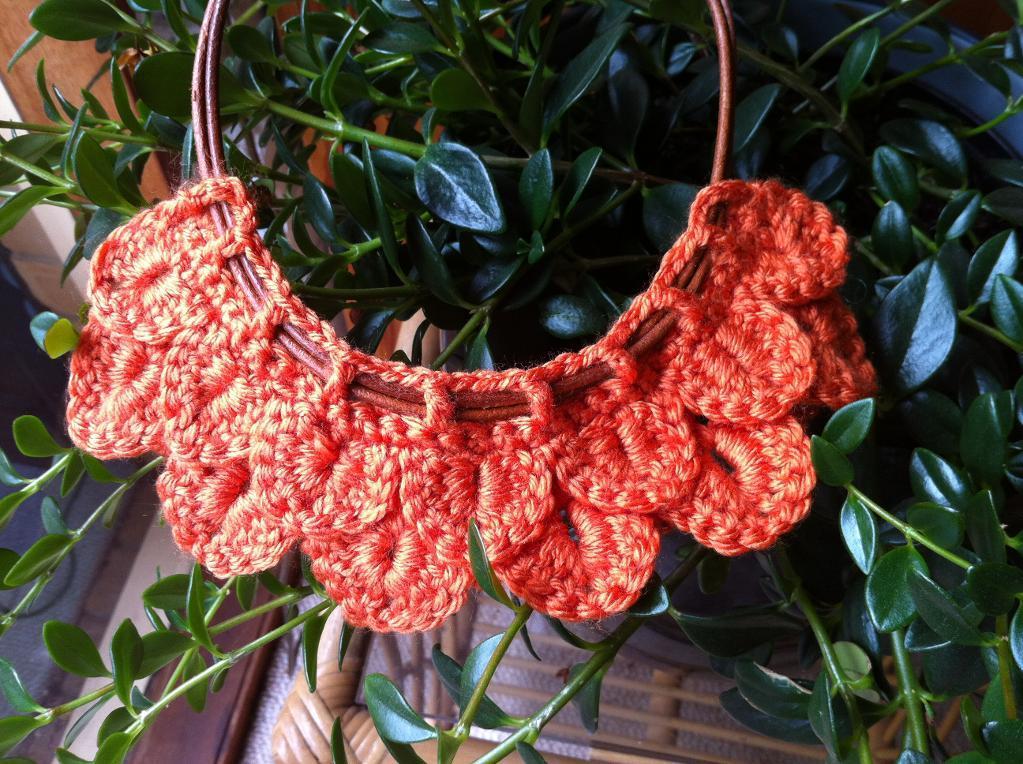Crocodile Stitch Necklace - Bluprint Member Pattern