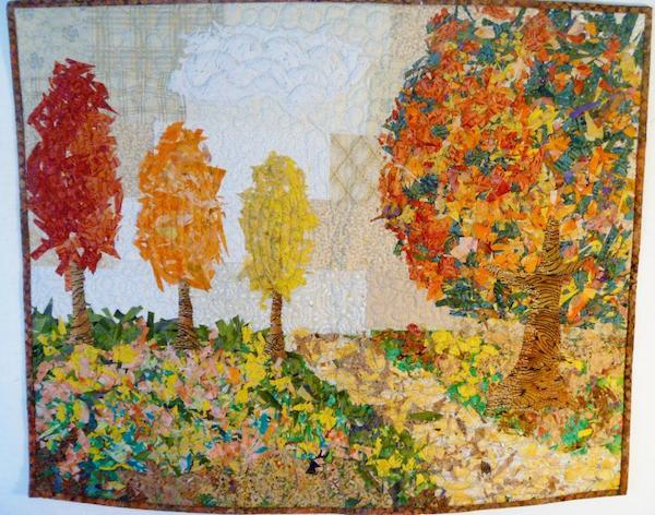 Confetti Trees Picture Quilt - Bluprint Member Quilt