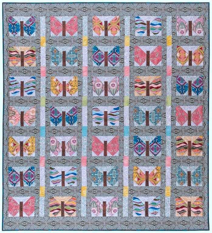 Butterfly Quilt Pattern - available on Bluprint.com